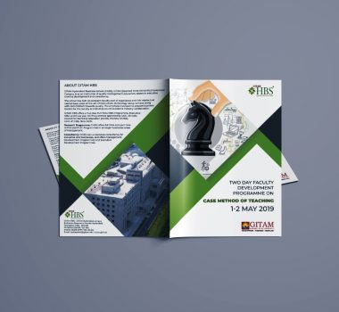 GITAM HBS Brochure Design