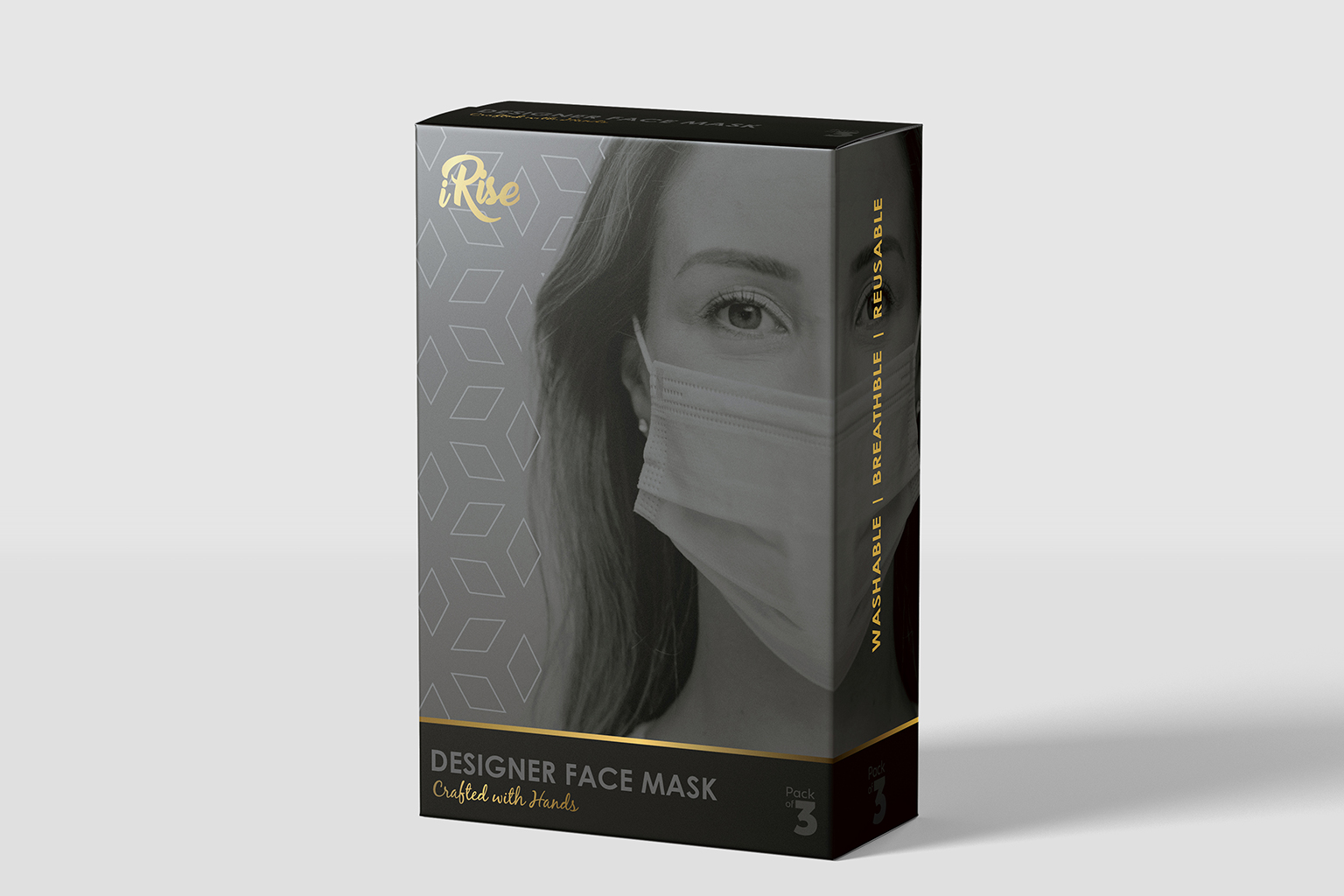 N95 Mask Packaging Design